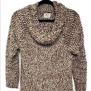 Sienna Sky Women Cowl Neck Chunky Sweater